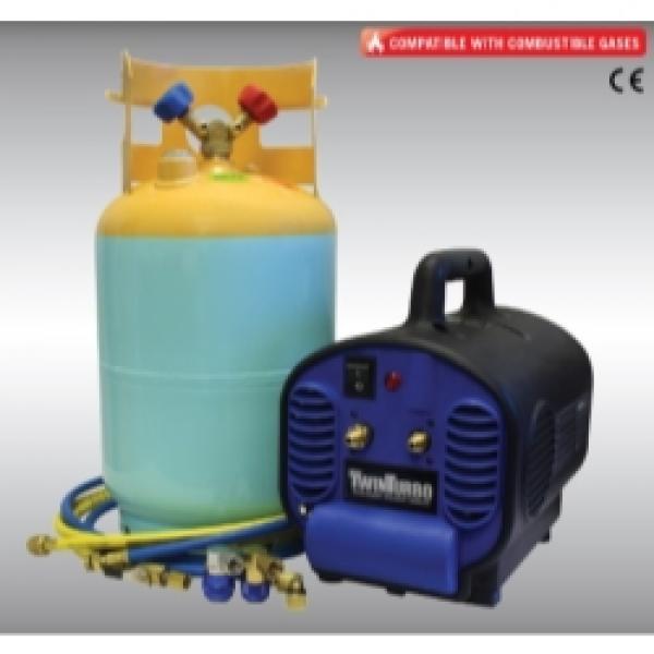 134A / 1234YF contaminated gas removal machine