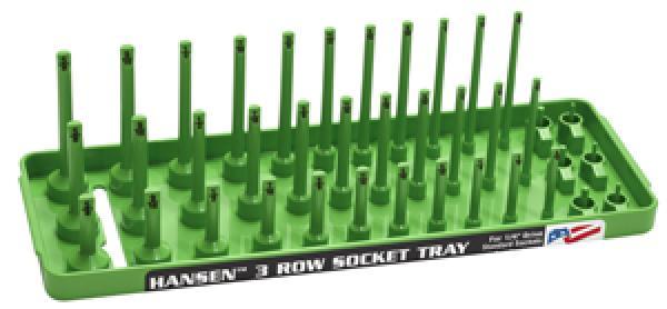 "XGreen 1/4"" Dr. SAE 3 Row"