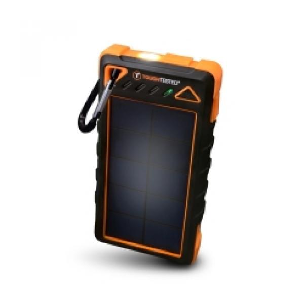 Power Bank 8000 mAh Solar/IP54/LED