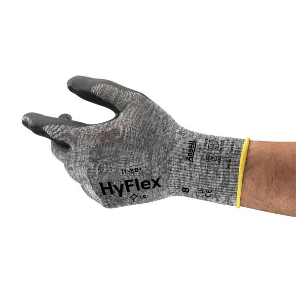 GLOVE HYFLEX 11-801 LIGHT DUTY INDUSTRIAL SZ 11