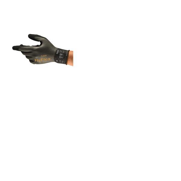 GLOVE HYFLEX 11-939 CUT/OIL REPELLENT SZ 11 12PK