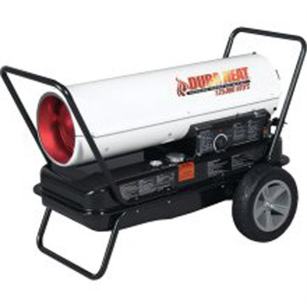 Heater, 125,000 Btu Pro Grade