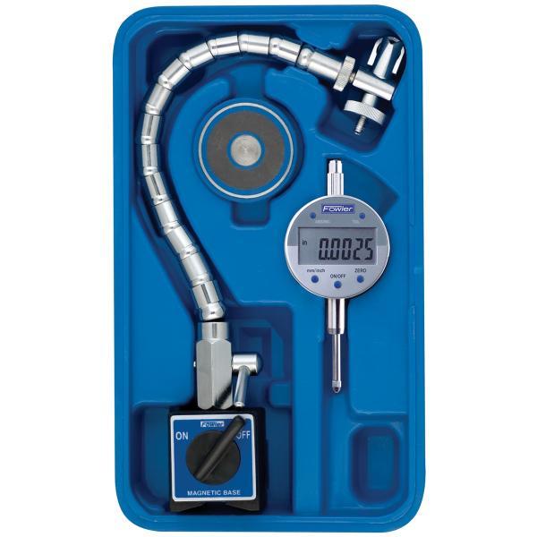 CHROME FLEX MAG SET WITH INDI-XBLUE ELECTRONIC INDICATOR
