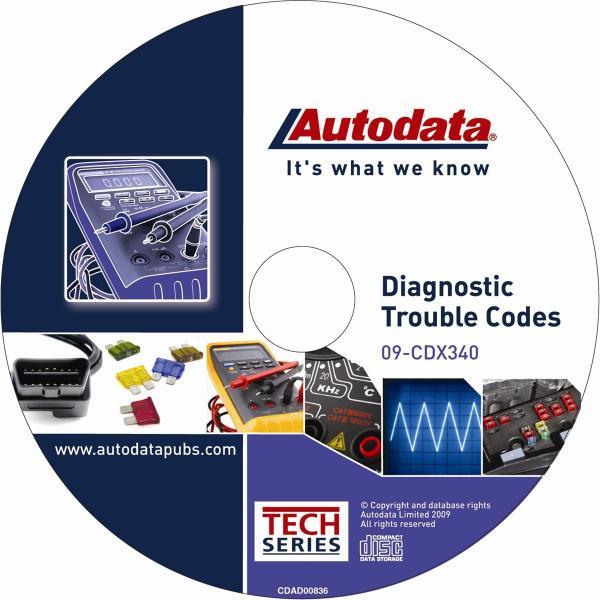 Autodata publications z sup 2009 diagnostic trouble codes cd fandeluxe Choice Image