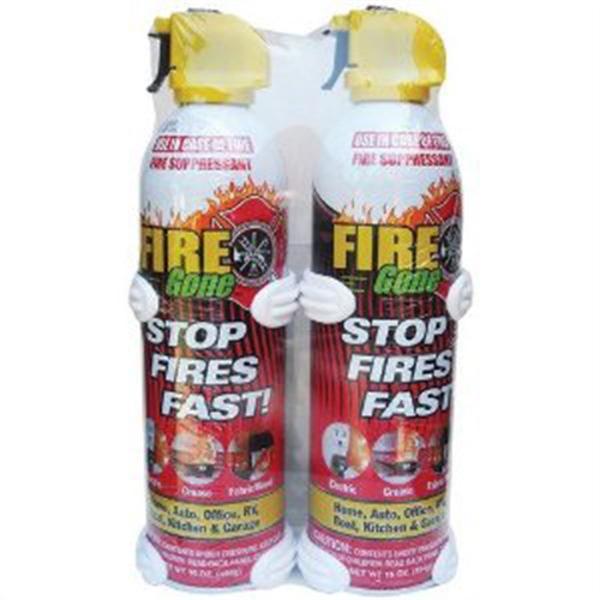 2-pk Fire Gone w/Brackets