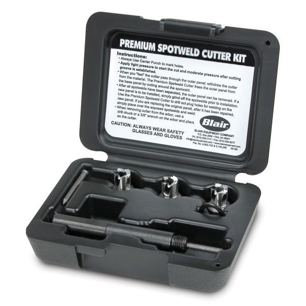Spotweld Rotabroach Cutter Set Standard Pilot - 3/8 In