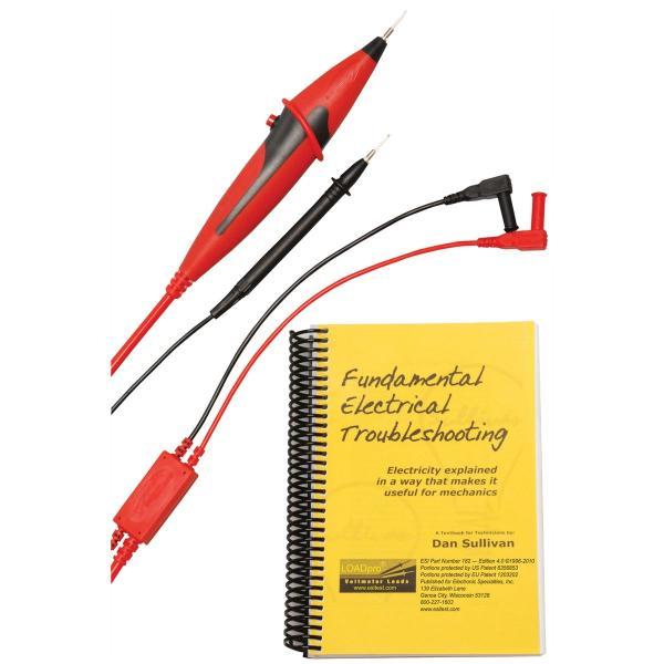 LOADPro Dynamic Test Leads w Fundamental Electrical Troubleshoot