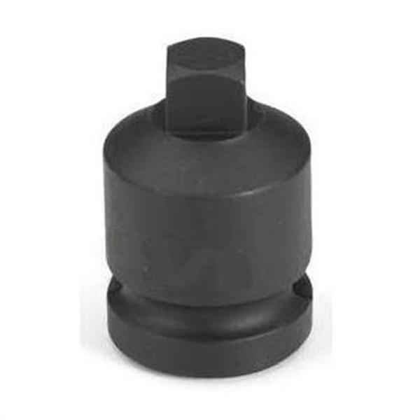 Drive square male pipe plug socket grey