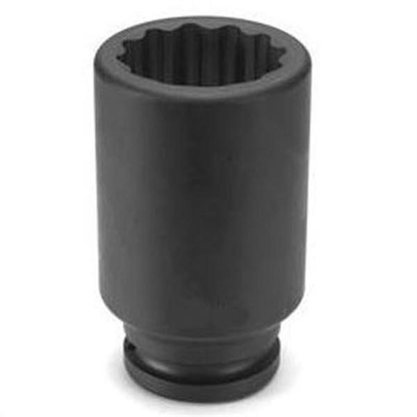 "3//4/"" Drive x 21mm 12 Point Deep Impact Socket Grey Pneumatic 3121MD GRY"