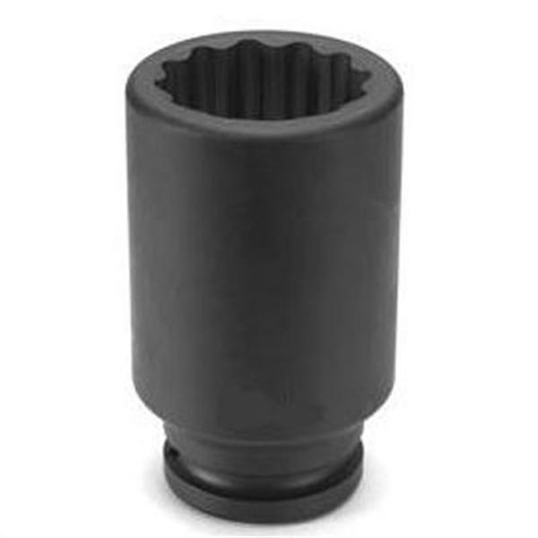 "3/4"" Drive x 32mm 12-Point Deep Length Metric Impact Socket"