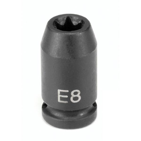 "1/4"" Drive x E12 External Torx Impact Socket"