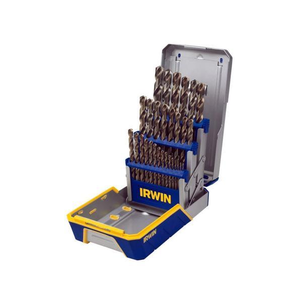 "Split Pt 1//2 /"" Dia Carded 10 pack Irwin Cobalt High Speed Drill Bit Hss"