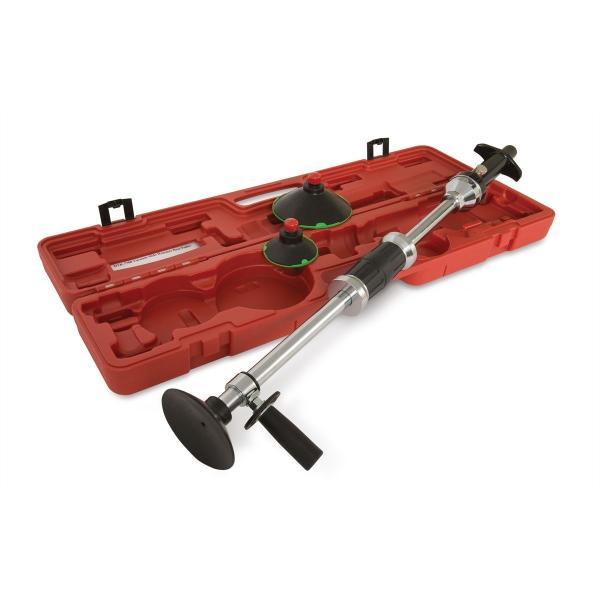 how to use a slide hammer dent puller