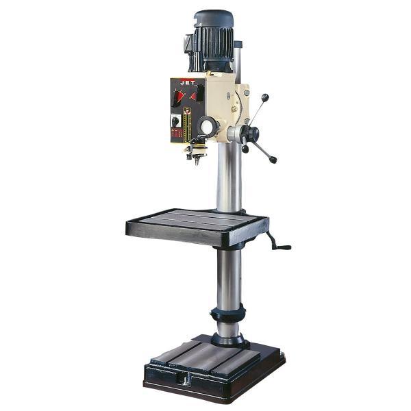 GHD-20 Geared Heavy Duty Drill Press, 2 HP, 3 PH, 12 Speed