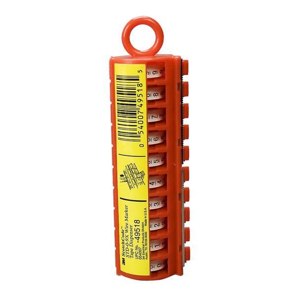 ScotchCode 0-9 Wire Marker Tape Dispenser