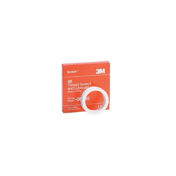 Scotch 48 Thread Sealant Tape, 1/4 Inch