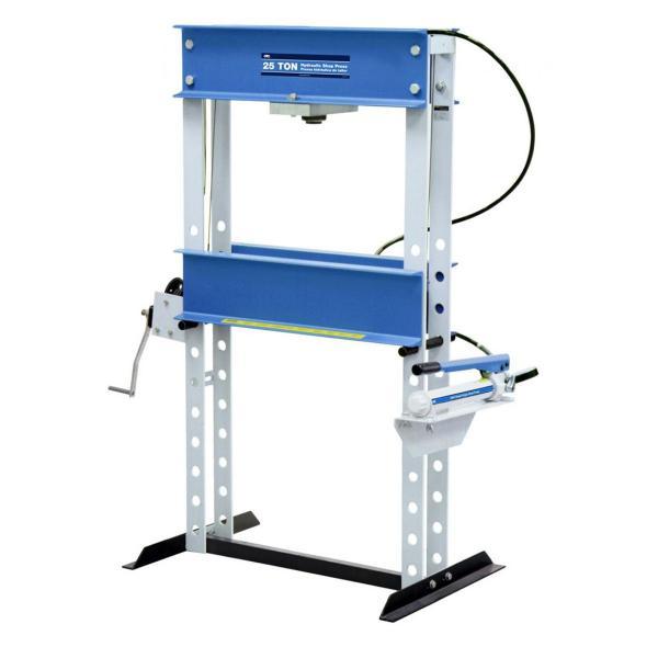 Hand Hydraulic Press ~ Otc open throat press w hydraulic hand pump