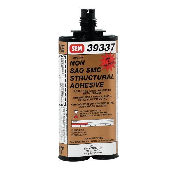 DUAL-MIX Non-Sag SMC Structural Adhesive - 7 Oz