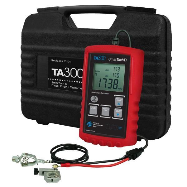 SmarTach Digital Tachometer Tach and Engine Analyzer Ignition Tester