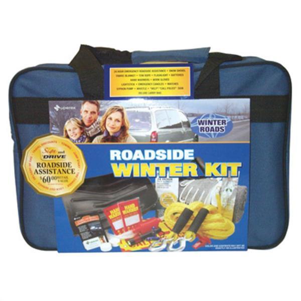 Deluxe winter emergency kit