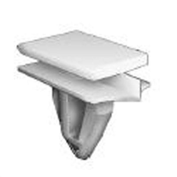 GM rocker panel moulding clip