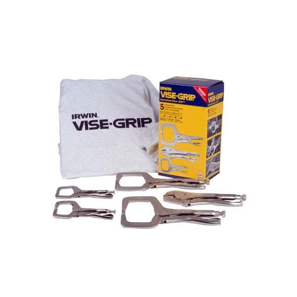 Welding Clamp Kit - 5-Pc w/ T-Shirt